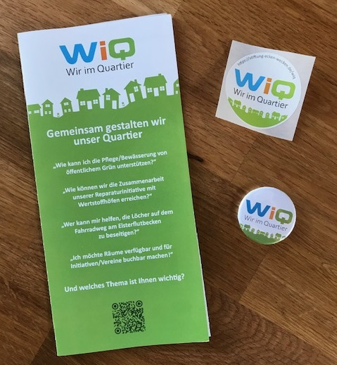 WiQ - Flyer, Sticker, Magnete