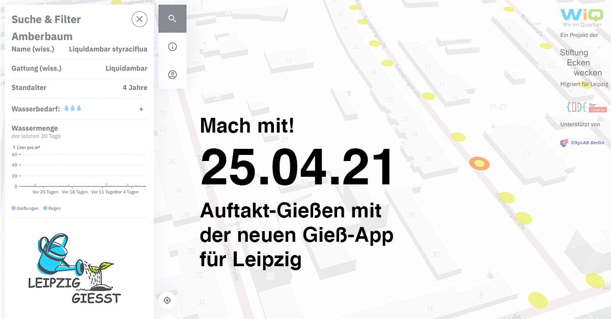 LEIPZIG GIESST Auftakt-Gießen